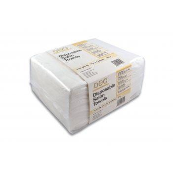 Deo Disposable Salon Towels White x 50