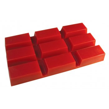 Deo Hot Film Wax Red Block 500g