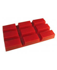 Hot Film Wax Red Block 500g