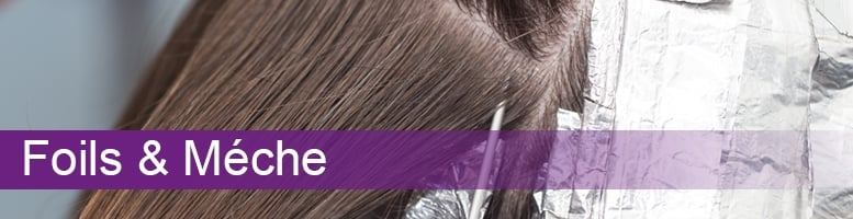 Professional Hair Colouring Foils & Mèche