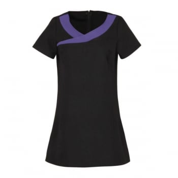 Dream Design Workwear Ivy Purple and Black Size 10