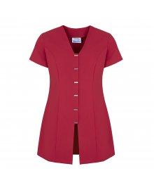 Jurisa Button Tunic Hot Pink Size 14