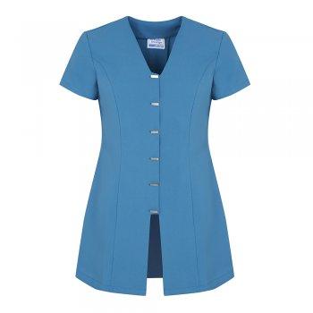 Dream Design Workwear Jurisa Button Tunic Teal Size 14