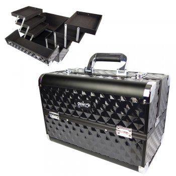 Geko Vanity Case Heavy Duty Black