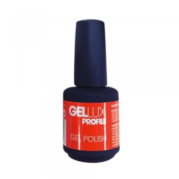 Gellux Sun & Sea Blazing Orange Gel Polish