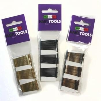 Hair Tools 1.5inch Short Grips Black x 50