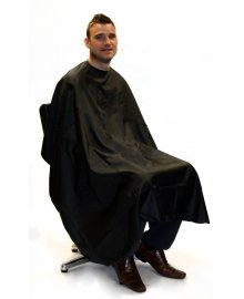 Barber Gown Black