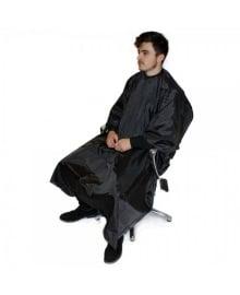 Barber Pinstripe Gown Black