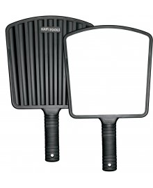 Black Eco Hand Mirror