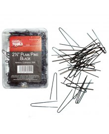 Plain Pins 2.5 inch Black x 500