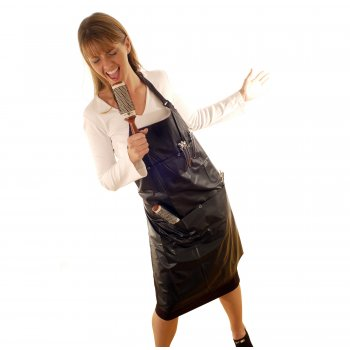 Hair Tools PVC Tinting Apron with Pockets