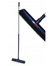 Rubber Bristle Broom