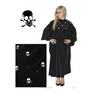 Hair Tools Skull Gown With Poppers