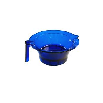 Hair Tools Transparent Tint Bowl Blue