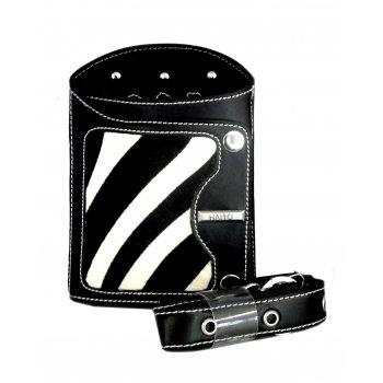 Haito Holster Zebra Print Black
