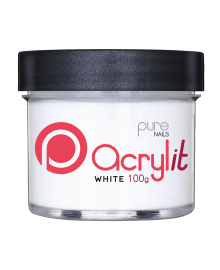 Acryl-It Powder White 100g