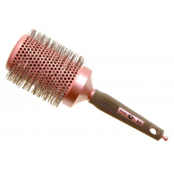 Head Jog 80 Ionic Ceramic Radial Pink Hair Brush 60mm