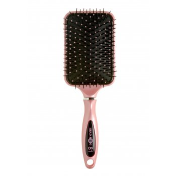Head Jog 81 Pink Ionic Paddle Brush