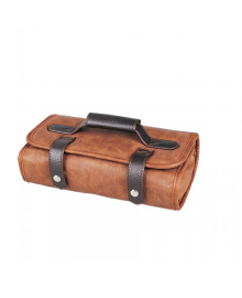 Barbers Tool Roll Brown