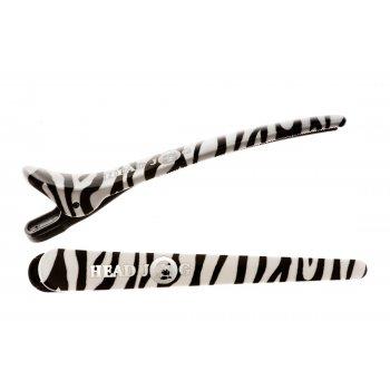 Head Jog Klip Itz Zebra Pack x 6