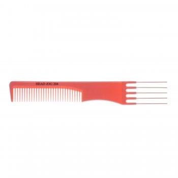 Head Jog Lift Comb with Metal Pins 204