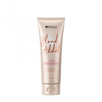 Indola Blond Addict PinkRose Shampoo 250ml