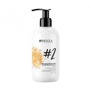 Indola ColorBlaster Pigmented Conditioner Crema (Gold Blond) 300ml