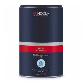 Indola Profession Rapid Blond+ Blue Bleaching Powder 1:2 450g