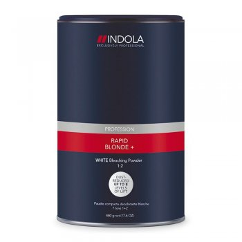 Indola Profession Rapid Blond+ White Bleaching Powder 1:2 450g
