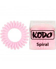 Spiral Baby Pink x 3