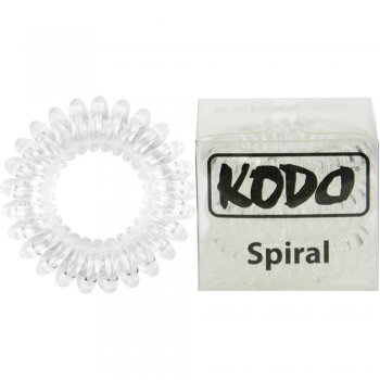 Kodo Spiral Pain-Free Hair Band Clear x 3