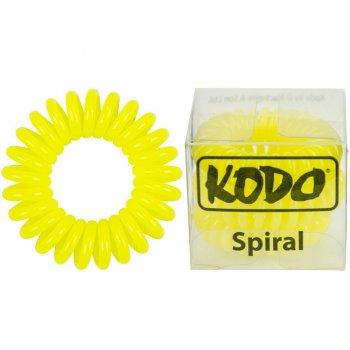 Kodo Spiral Pain-Free Hair Band Yellow x 3