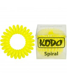 Spiral Pain-Free Hair Band Yellow x 3