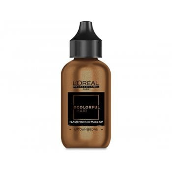 L'Oréal Professionnel Colorful Hair Flash Pro Hair Make-up Uptown Brown 60ml