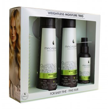 Macadamia Professional Weightless Moisture Trio Set
