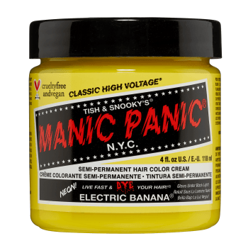 Manic Panic High Voltage Classic Hair Colour 118ml – Electric Banana