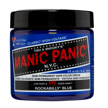Manic Panic High Voltage Classic Hair Colour 118ml – Rockabilly Blue