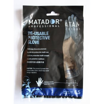 Matador Latex Gloves Size 6.5
