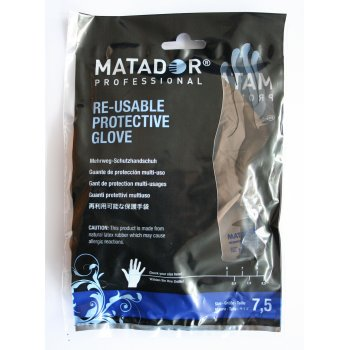 Matador Latex Gloves Size 7.5