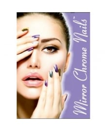 Mirror Chrome Nail Poster