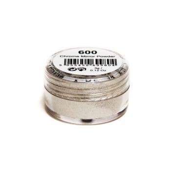 Millennium Nails Mirror Chrome Platinum Powder