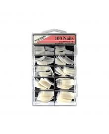 Salon Gold Nail Tips x 100