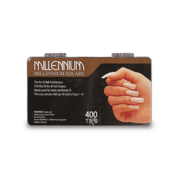 Millennium Nails Square Nail Tips x 400