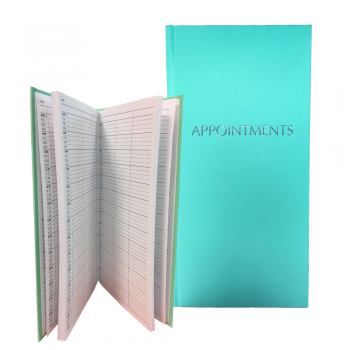 Misc Appointment Book 3-Assistant Teal