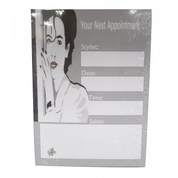 Misc Appointment Book White 6 Columns