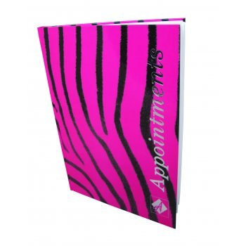 Misc Appointment Book Zebra 6 Columns