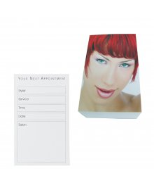Appointment Cards Red Head