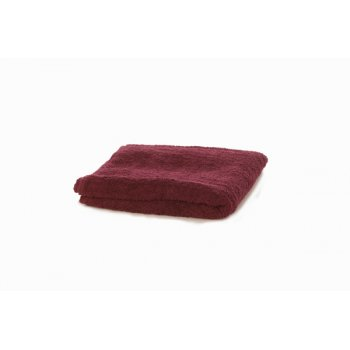 Misc Essential Bath Sheet Burgundy