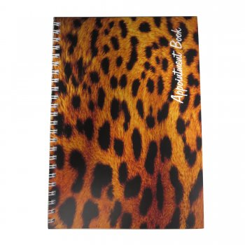 Misc Leopard Appointment Book