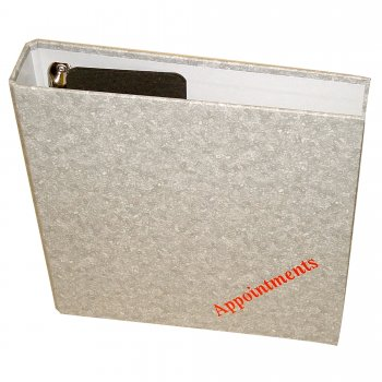 Misc Loose Leaf Binder 4 Columns